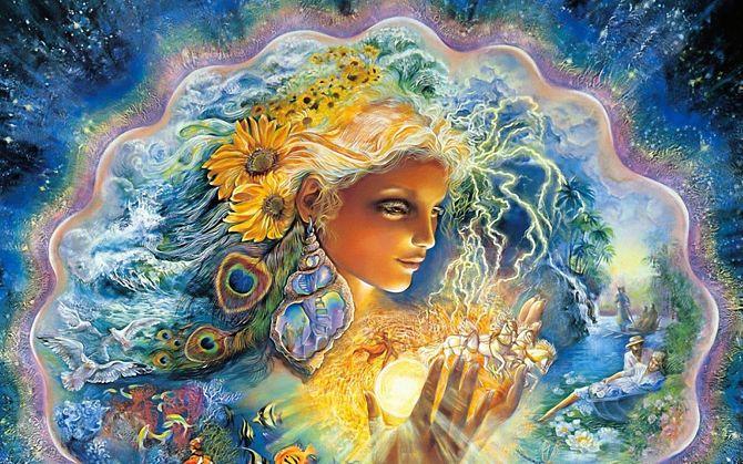 Богиня Лада, покровительница женщин