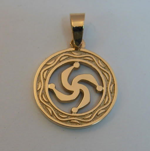 Символ Рода из бронзы.