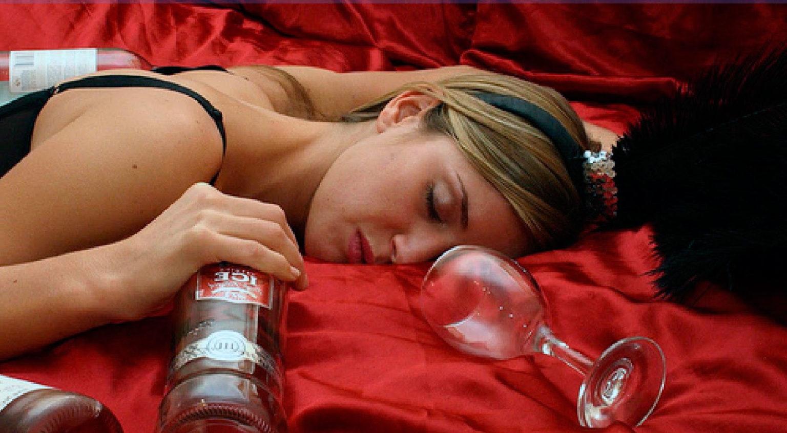 Заговор на пьющую женщину.