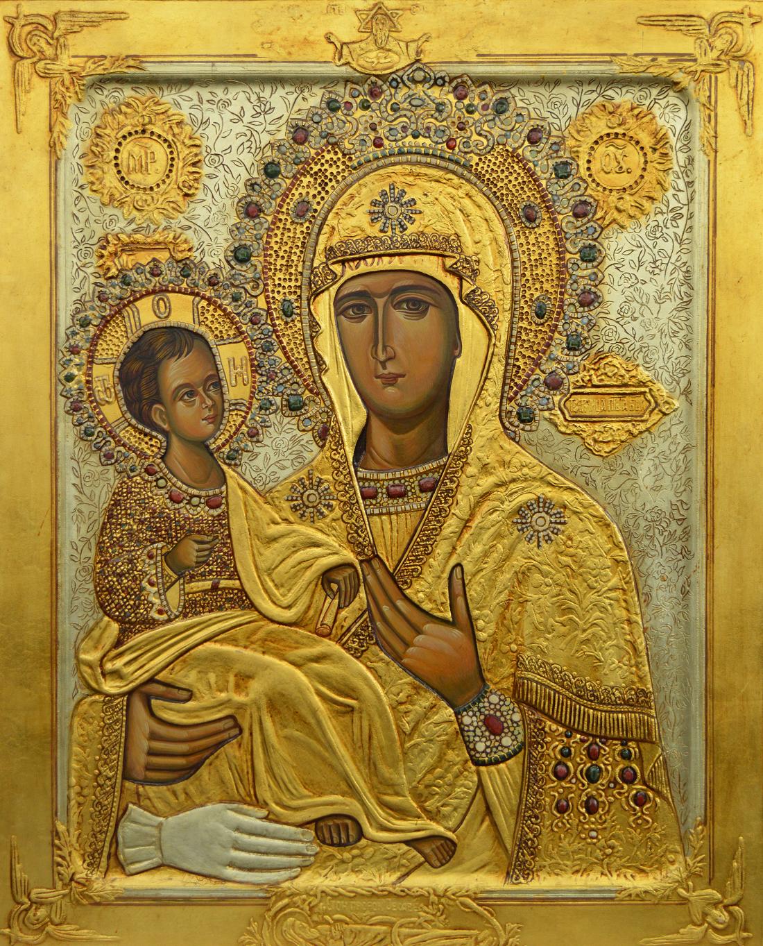 Чудотворная икона Богородицы дева радуйся.