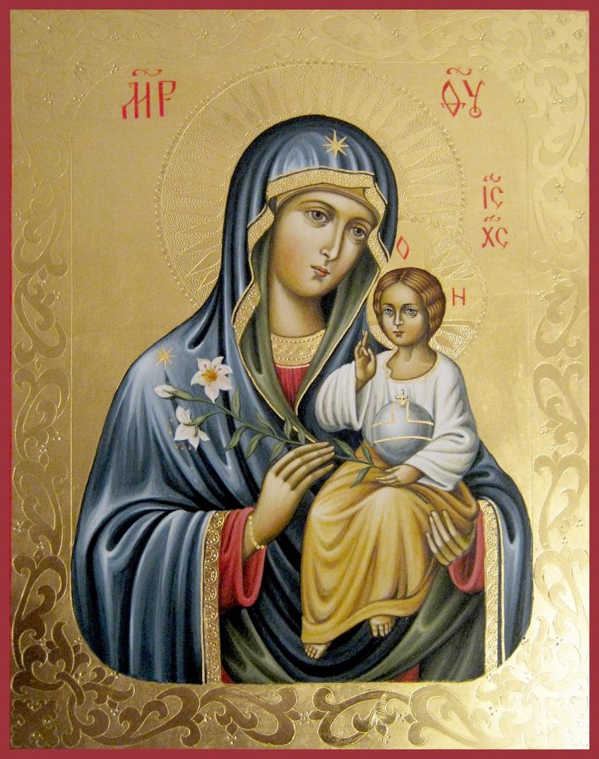 Толкование молитвы «Богородице Дево, радуйся»