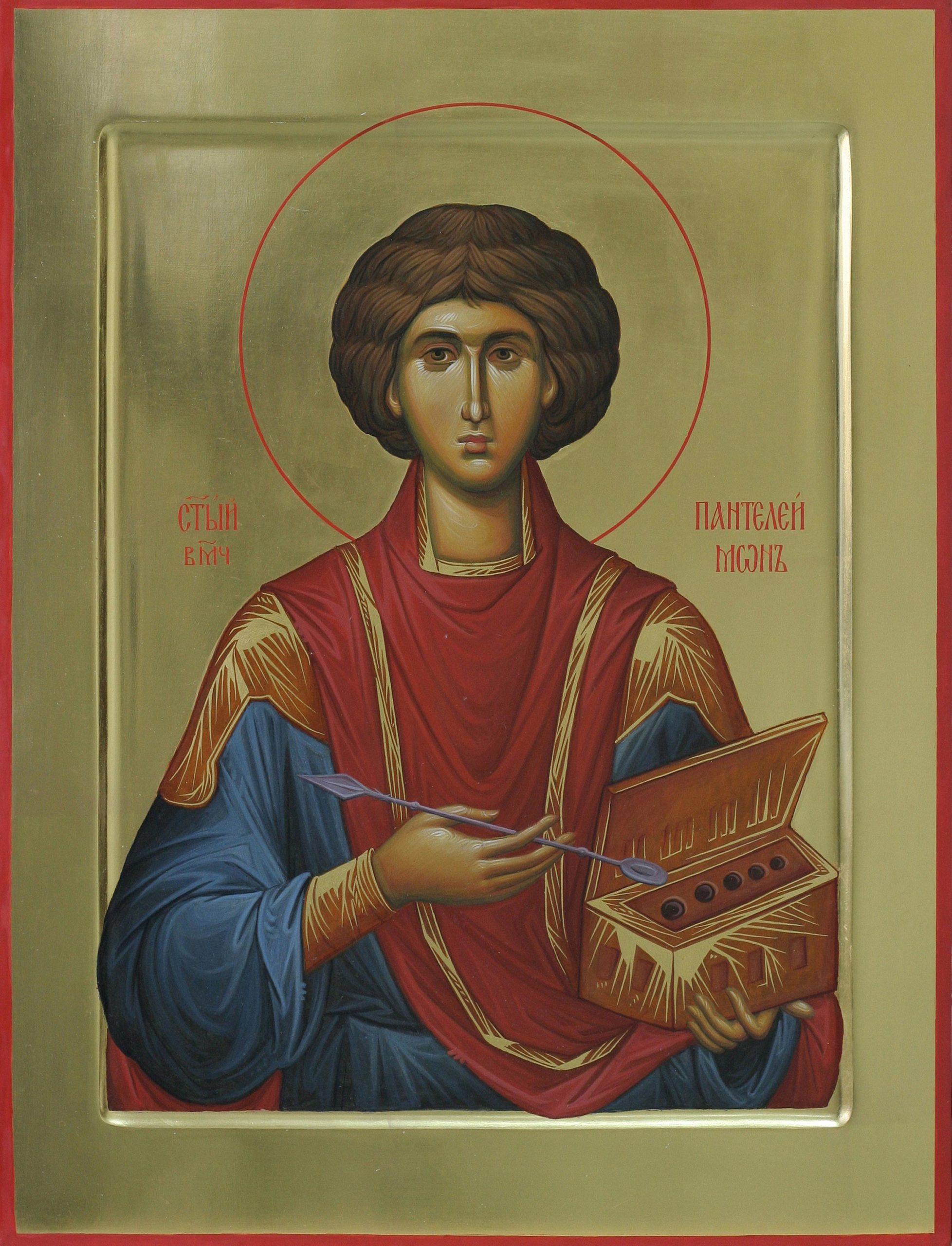 Икона Святого Пантелеймона.