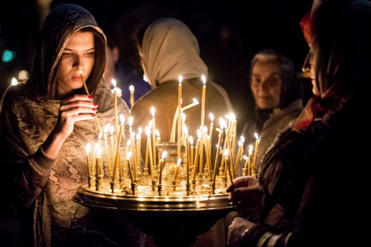Православная молитва об усопших.