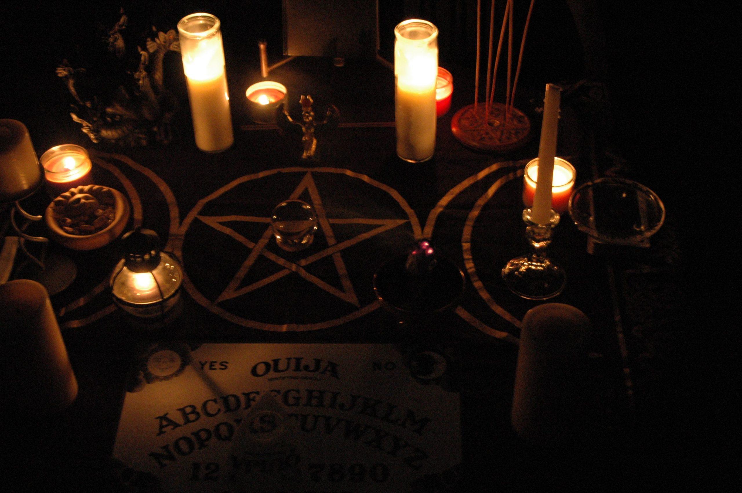 Проведение ритуала.