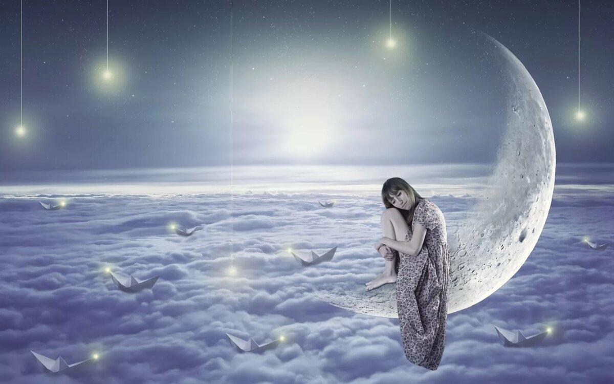 Влияние Луны на здоровье и красоту человека.